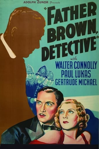 Poster of Father Brown, Detective
