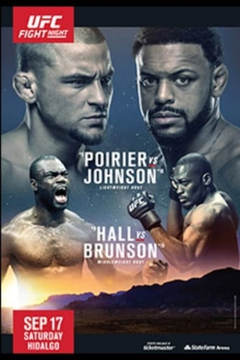 Poster of UFC Fight Night 94: Poirier vs. Johnson