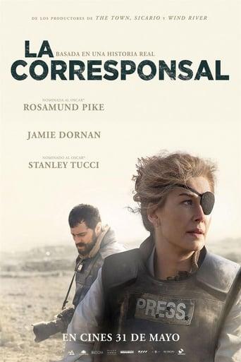 Poster of La corresponsal