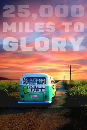 Poster of 25,000 Miles to Glory