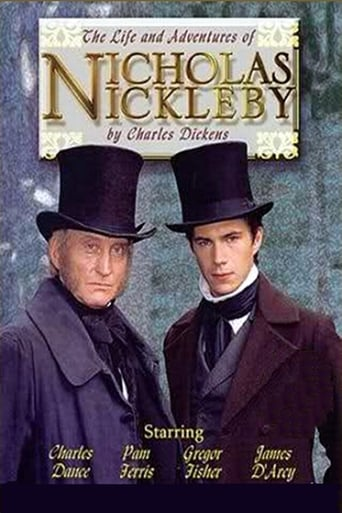 Poster of The Life and Adventures of Nicholas Nickleby