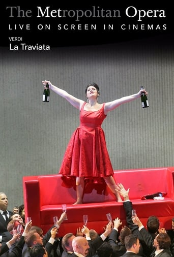 Poster of Live in HD at the Met: La Traviata