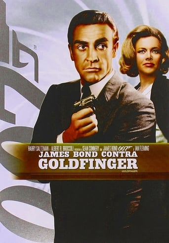 Poster of James Bond contra Goldfinger