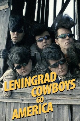 Poster of Leningrad Cowboys Go America