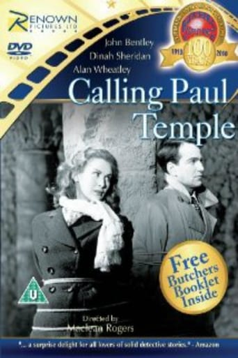 Poster of Calling Paul Temple