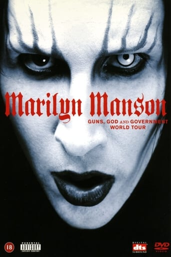 Poster of Marilyn Manson: Guns, God and Government World Tour