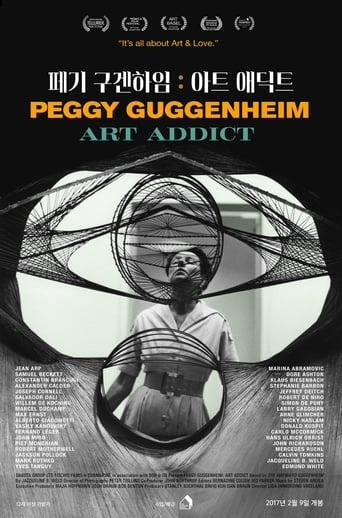 Poster of Peggy Guggenheim: Art Addict