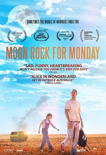 Poster Moon Rock for Monday