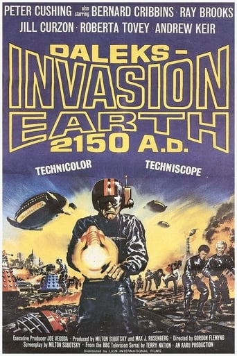 Poster of Daleks' Invasion Earth: 2150 A.D.