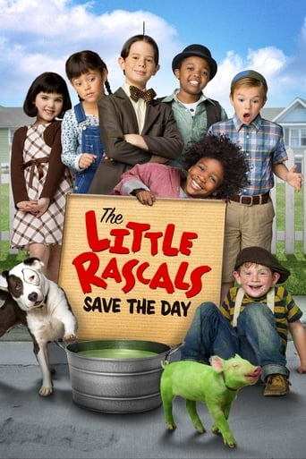 The Little Rascals Save the Day Poster