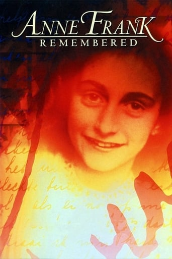 Poster of Anne Frank Remembered