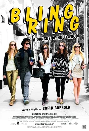 Bling Ring: A Gangue de Hollywood - Poster