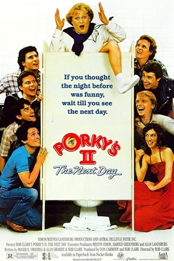Poster of Porky's II: The Next Day fragman