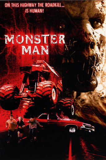 Monster Man Poster
