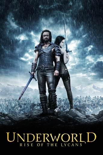 Poster of Underworld: Rise of the Lycans
