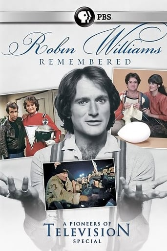 Poster of Robin Williams Remembered
