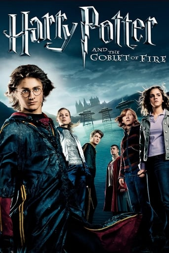 Official movie poster for Harry Potter and the Goblet of Fire (2005)