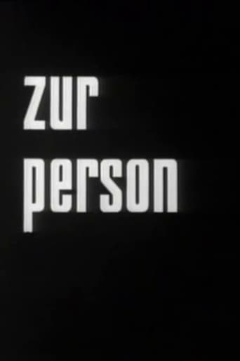 Poster of Zur Person