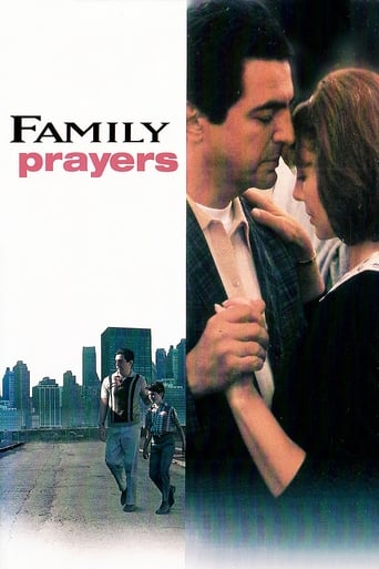 Official movie poster for Family Prayers (1993)