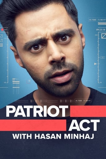Poster of Patriot Act with Hasan Minhaj