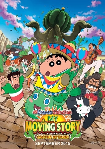 Poster of Crayon Shin-chan: My Moving Story! Cactus Large Attack!
