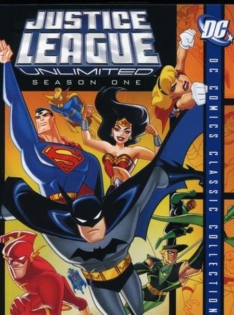 Liga da Justiça 3ª Temporada - Poster