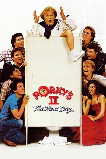 Poster of Porky's II: Al día siguiente