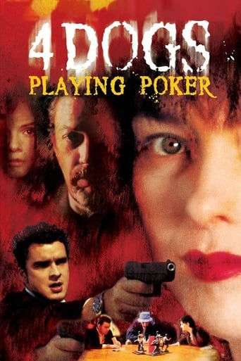 Poster of Four Dogs Playing Poker