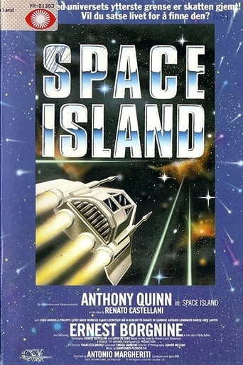 Poster of Treasure Island in Outer Space