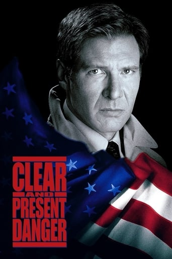 Clear and Present Danger (1994) - poster