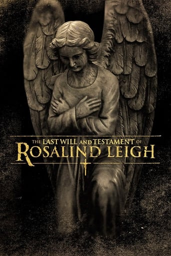 Poster of The Last Will and Testament of Rosalind Leigh