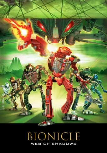 Poster of Bionicle 3: Web of Shadows