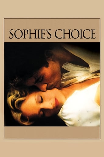 Poster of Sophie's Choice