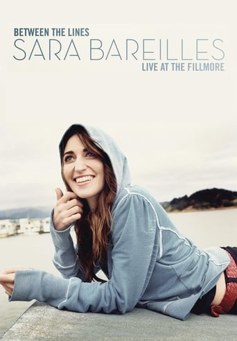 Poster of Between The Lines Sara Bareilles Live At The Fillmore