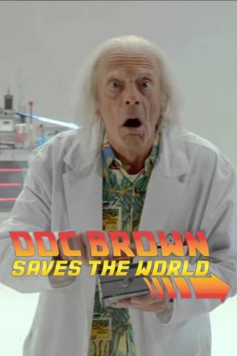Poster of Doc Brown Saves the World