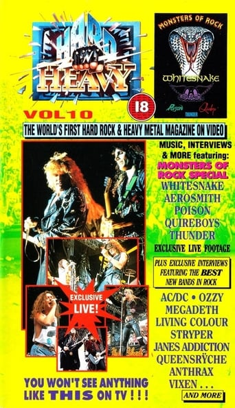 Poster of Hard 'N Heavy Volume 10
