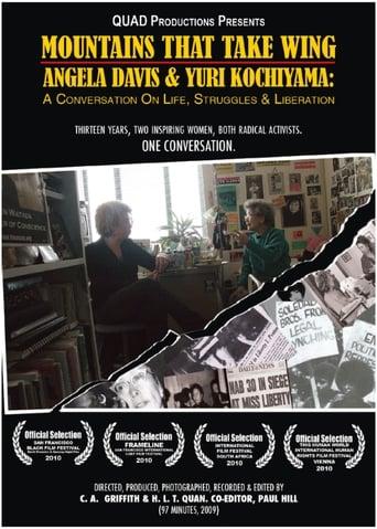 Poster of Mountains That Take Wing: Angela Davis & Yuri Kochiyama- A Conversation on Life, Struggles, and Liberation