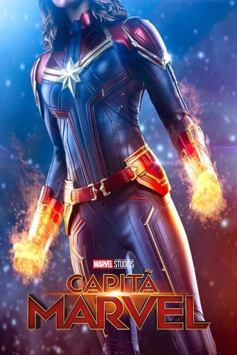 Capitã Marvel - Poster