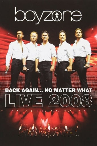 Poster of Boyzone: Back Again... No Matter What - Live