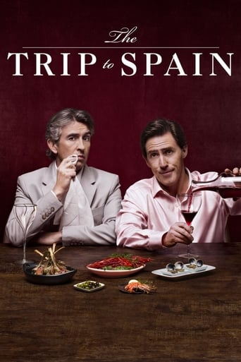 Poster of The Trip to Spain fragman