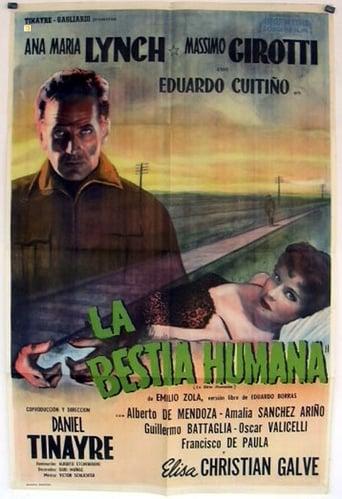 Poster of La bestia humana