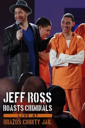 Poster of Jeff Ross Roasts Criminals: Live at Brazos County Jail