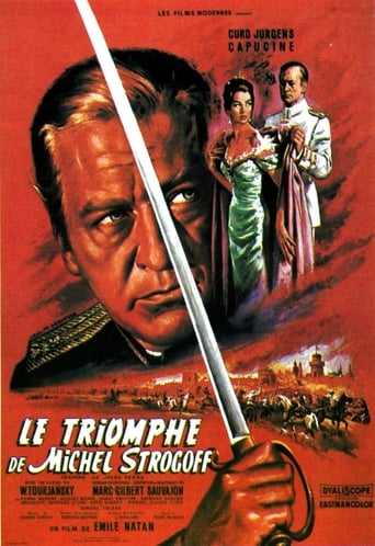 Poster of Le Triomphe de Michel Strogoff