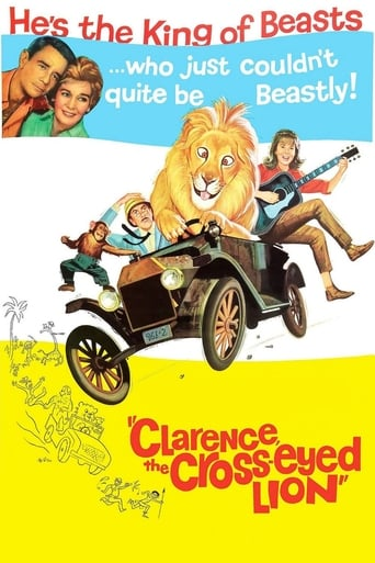 Poster of Clarence, the Cross-Eyed Lion