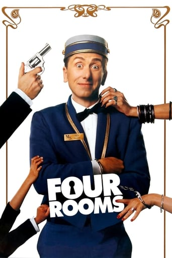 Four Rooms (1995) - poster