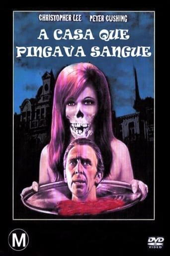 A Casa que Pingava Sangue - Poster