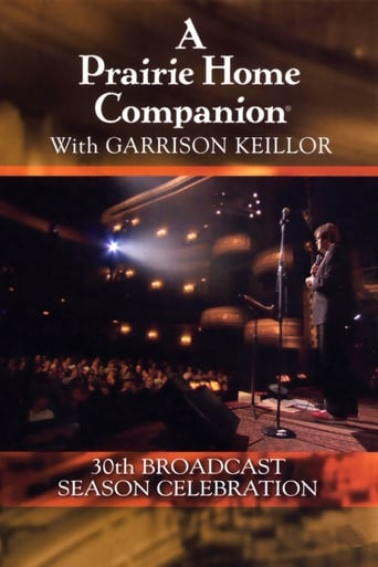 Poster of A Prairie Home Companion 30th Broadcast Season Celebration