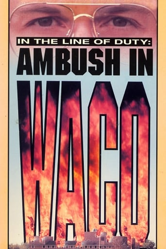 Poster of Ambush in Waco: In the Line of Duty