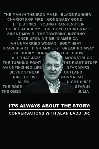 Poster of It's Always About the Story: Conversations with Alan Ladd, Jr.