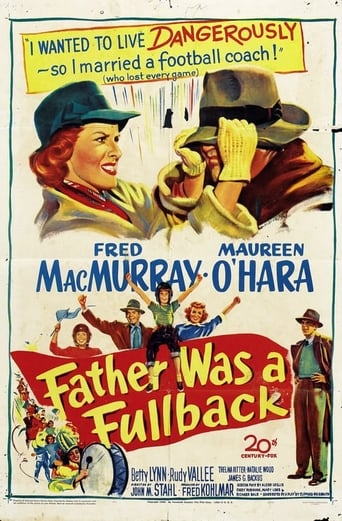 Poster of Father Was a Fullback